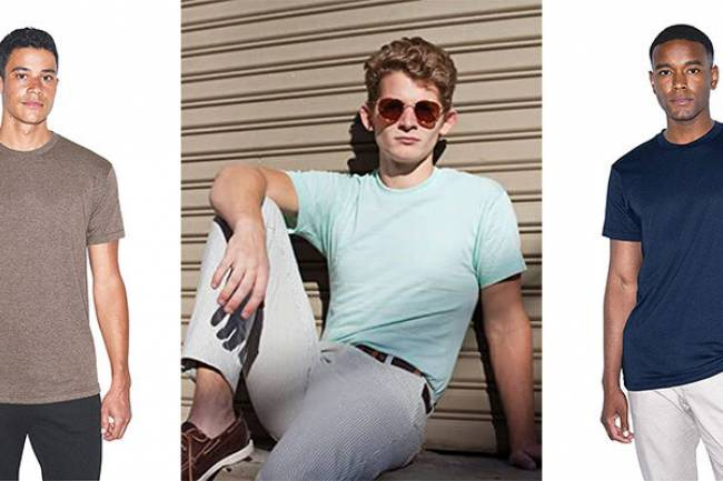 American Apparel Crewneck Short Sleeve T-shirt: Experience Freedom with Style