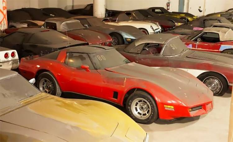 Lost and Found - First 36 Years of the Corvette Originally Won in a Contest
